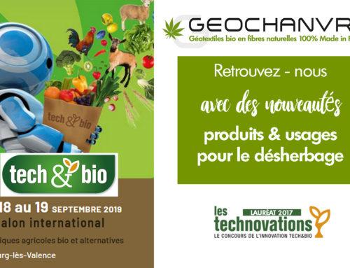 Géochanvre expose au Tech & Bio en Septembre