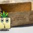 Herbi Mascotte de Géochanvre toujours prêt à lutter contre le plastique et les parcs naturels régionaux