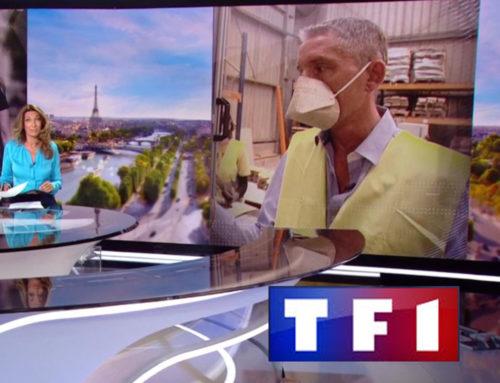 Les Masques Biocompostables de Géochanvre sur TF1